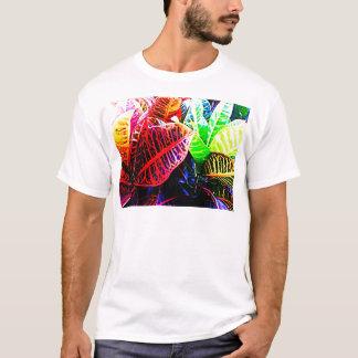 Couleurs du feuille t-shirt