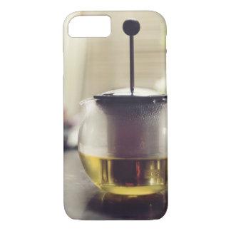 Couleurs royales de couverture de thé coque iPhone 7