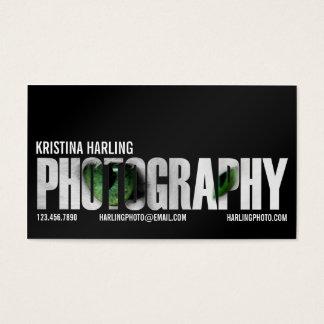 Coupe-circuit de photographie - noir cartes de visite