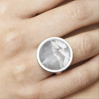 Coupe claire de diamant bagues avec photo