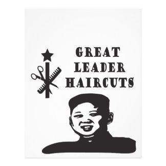 coupe de cheveux de l'ONU de Kim Prospectus 21,6 Cm X 24,94 Cm