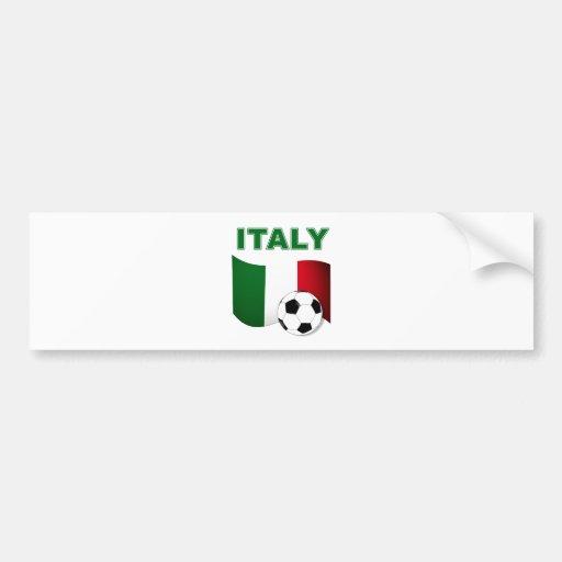 Coupe du monde 2010 du football de l'Italie Adhésif Pour Voiture