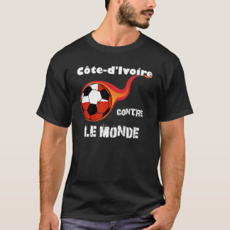 Coupe du monde - Côte d'Ivoire contre le monde T-shirt