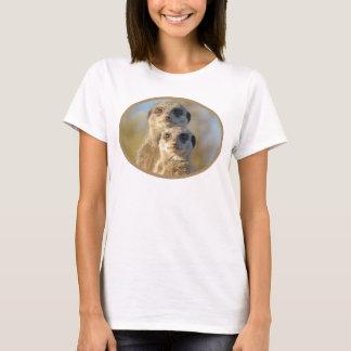 Couples mignons de Meerkat T-shirt