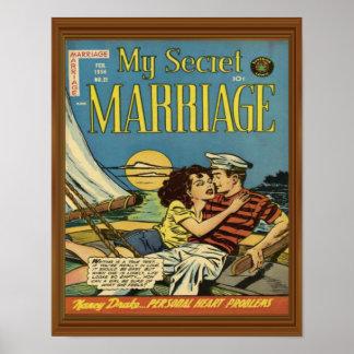 Couples Romance de voilier secret de mariage