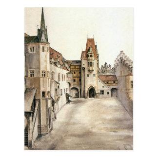 Cour de l'ancien château à Innsbruck Carte Postale