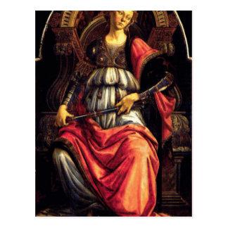 Courage par Sandro Botticelli Carte Postale
