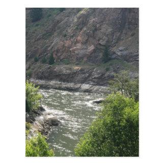 Courbure de rivière cartes postales
