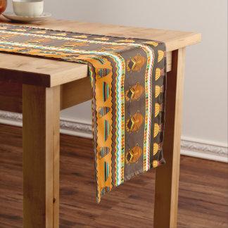 Coureur animal tribal africain de table de salle à chemin de table court
