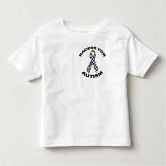 Coureurs pour l'autisme t-shirt pour les tous petits
