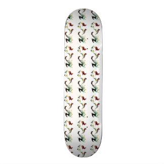 Courez l'art d'animal de course de lapin mini skateboard 18,4 cm