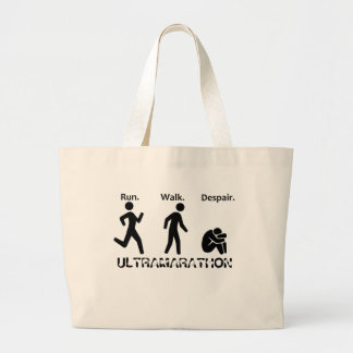 Courez le désespoir de promenade grand tote bag