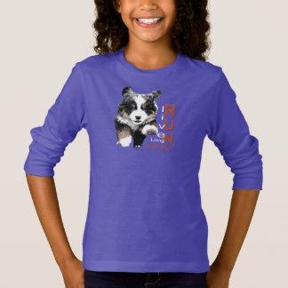 Courez le sweatshirt de Berner de la fille libre