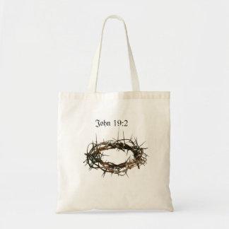 Couronne de sac de cadeau des épines chrétienne