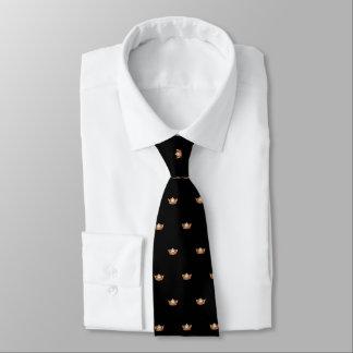 Couronne orange de Mlle Amérique et cravate des