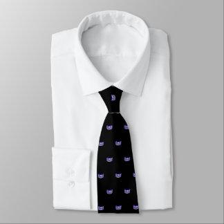 Couronne pourpre de la Mlle Etats-Unis et cravate