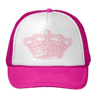 Couronne rose casquettes