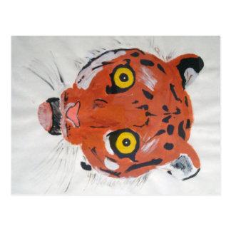 Courrier de tigre cartes postales