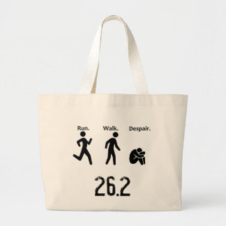 Course. Promenade. Désespoir. Marathon Grand Tote Bag