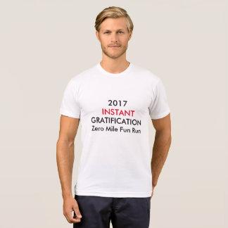 Course zéro d'amusement de mille t-shirt