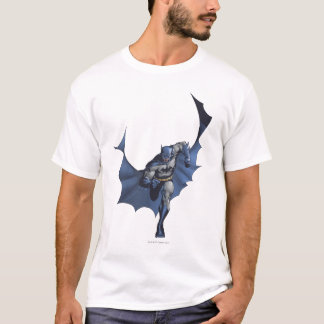 Courses de Batman avec le cap de vol T-shirt