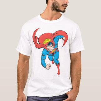 Courses de Superman en avant T-shirt