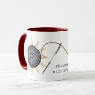 Cousez et cousez mug