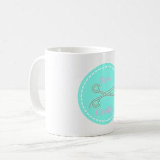 Cousez le cercle bleu d'Aqua astucieux avec des Mug