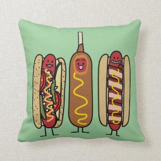 Coussin Amis de hot-dog
