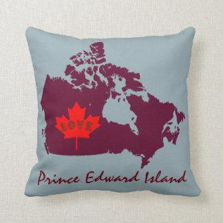 Coussin Amour de personnaliser d'île Prince Edouard