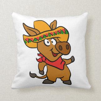 Coussin Âne mexicain
