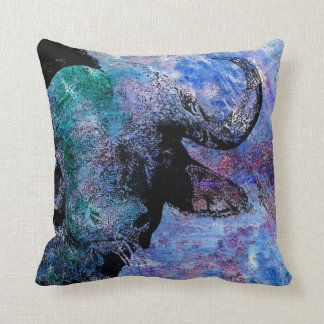 Coussin animal coloré, copie de Buffalo