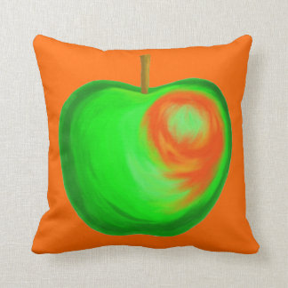 Coussin Apple orange de flambage reposent l'itinéraire de