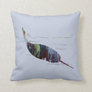Coussin Art de Narwhal
