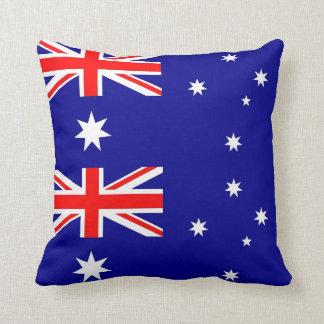 Coussin australien de MoJo d'Américain de drapeau