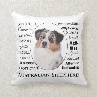 Coussin australien de traits