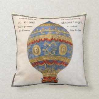Coussin Ballon à air chaud de frères de Montgolfier
