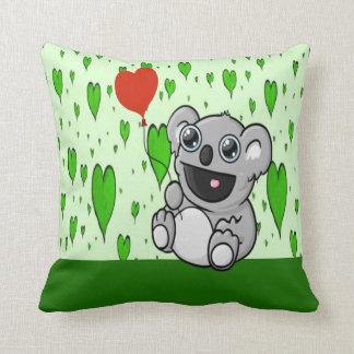 Coussin Ballon de coeur de koala