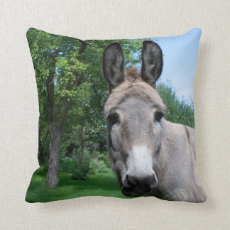 Coussin Beau portrait d'âne