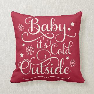 Coussin Bébé c'est carreau froid de vacances de
