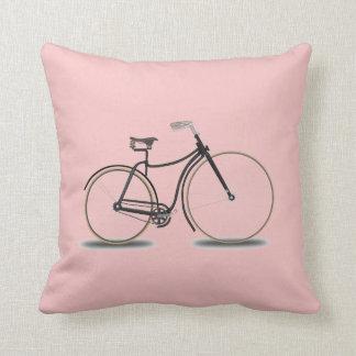 Coussin Bicyclette de carreau de quartz rose
