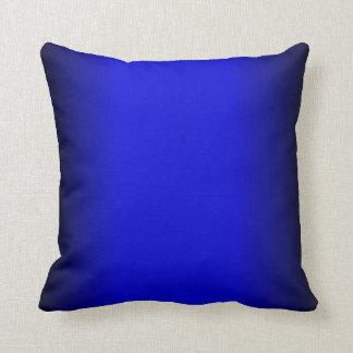 Coussin Bleu électrique solide