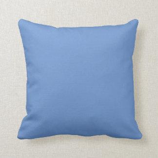 Coussin Bleu pour aquarelle squelettique d'éclaboussure de