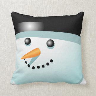 Coussin Bonhomme de neige drôle