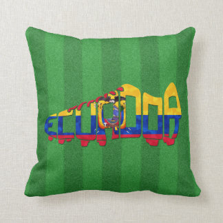 Coussin Botte du football du football de l'Equateur