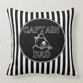 Coussin Capitaine Dad - carreau fantomatique de galion