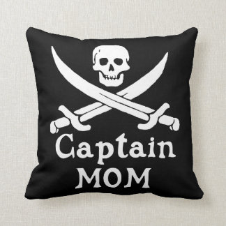 Coussin Capitaine Mom