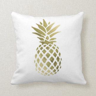 "Coussin Carreau 16"" de polyester d'ananas x 16"""