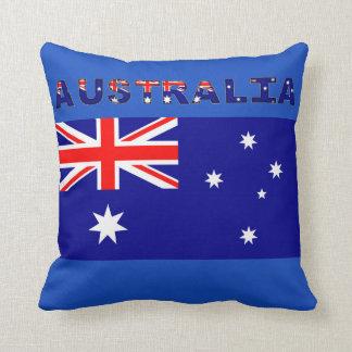 """Coussin Carreau australien 16"""" de drapeau x 16"""""""