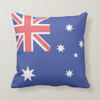 Coussin Carreau australien de polyester de drapeau